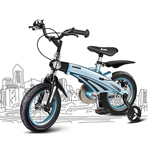 YQ Bicicleta Infantil De 16 Pulgadas Ajustable 5-11 Años Aleación De Magnesio Freno De Disco Carro De Bebé Bicicletas De...
