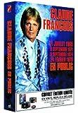 Claude François en public, 4 concerts : 1965, 1971, 1974, 1978 (Coffret 4 CD Vinyl Replica)