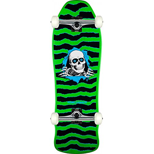 Powell-Peralta Skateboard GEEGAH RIPPER Green Old School ASSEMBLED