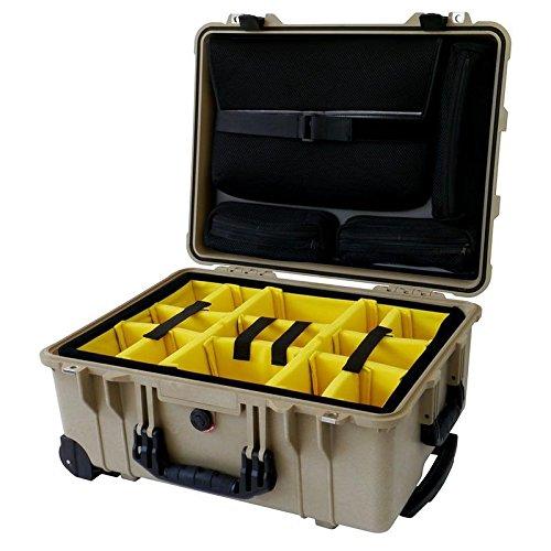【在庫限り】 デザートタンPelican TSAロック 1560sc withパッド入りディバイダーと4蓋Pouches。Includes 2 2 TSAロック 1560sc B00VHEUQHU, 業務用製菓材料のスイートキッチン:d6789803 --- vanhavertotgracht.nl