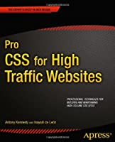 Pro CSS for High Traffic Websites Front Cover