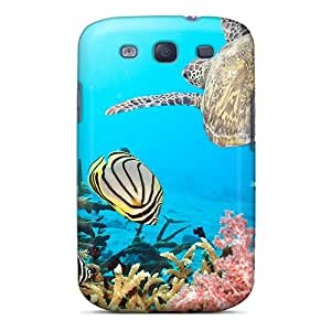 THWul1331fgnXo NikRun Awesome Case Cover Compatible With Galaxy S3 - Ocean Beauty
