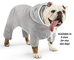 Doggie Jogging Suit with Hoodie Large by JH Smith