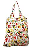 Value Pack 2 Foldable Reusable Shopping Tote Bags Island Yumi Pink