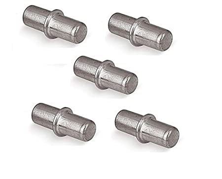 28 SHELF SUPPORT PINS STUDS PEG STEEL 5MM SUKI