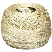 DMC 116 12-842 Pearl Cotton Thread Balls, Very Light Beige Brown, Size 12