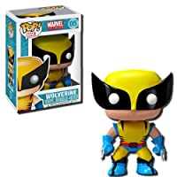 Funko Marvel Pop Vinyl Figure Wolverine - 4 Inches by Funko Plushies