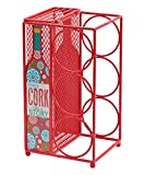 Boston Warehouse Cork Story Red Wine Rack and Cork Collector, 7.28 x 13 x 6.3 inches