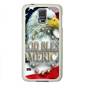 iCustomonline Case for Samsung galaxy S5 PC, The American Flag Stylish Durable Case for Samsung galaxy S5 PC