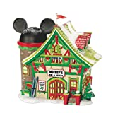 Department 56 Disney Village Mickey's Ski Chalet Lit House, 6.5 inch