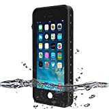 BESINPO iPhone 7Plus / 8Plus Waterproof Case, Underwater Full Body Protective Cases iPhone 7 Plus/8 Plus 5.5 Inch (Black)