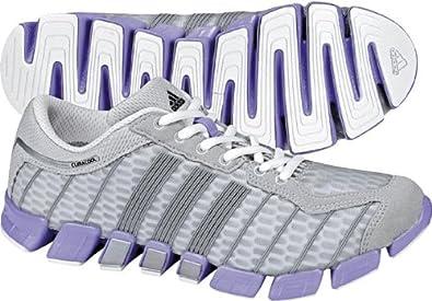 more photos 44f9a 24357 adidas Women s CC Ride Running Shoe,Metallic Silver Medium Purple Metallic  Silver,