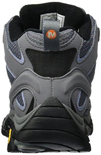 de Hautes 2 Moab Grey Femme Gris Randonnée Mid Periwinkle Merrell GTX Chaussures wnXp0qBBx