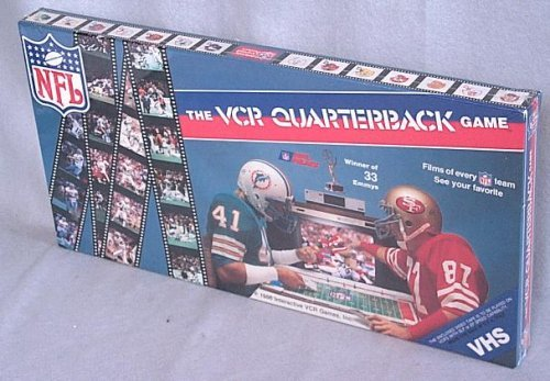 The VCR Quarterback Game (VHS Edition) by Justice Collectibles (Vhs Board Game)