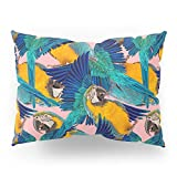 Society6 Ara Parrot Pillow Sham Standard (20'' x 26'') Set of 2