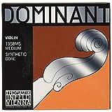Thomastik-Infeld 135BMS Dominant Violin Strings, Complete Set, 135Bms, 4/4 Size, Chrome Steel Loop End E String