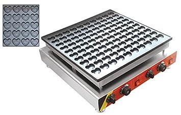 Comercial Eléctrico 100pcs Poffertjes parrilla eléctrica ...