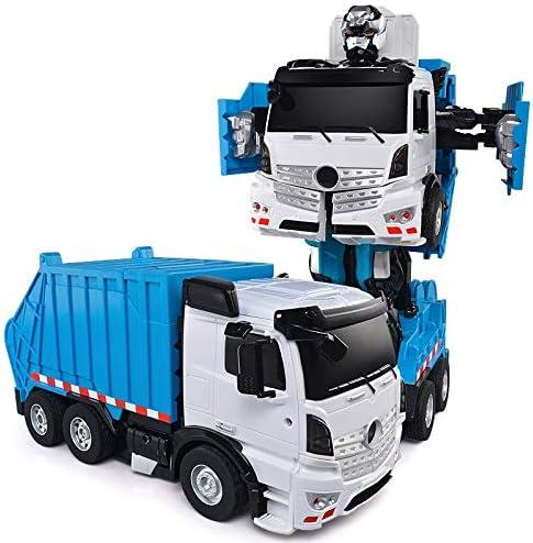 XSLY Un botón de deformación de camiones de juguete de control remoto Cambiar el gestor de