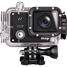 Gitup Git2P Pro Action Sports Camera WiFi 1080P Full HD Waterproof Helmet Cam 170° Wide Angle With Panasonic Sensor (Git2P Only)