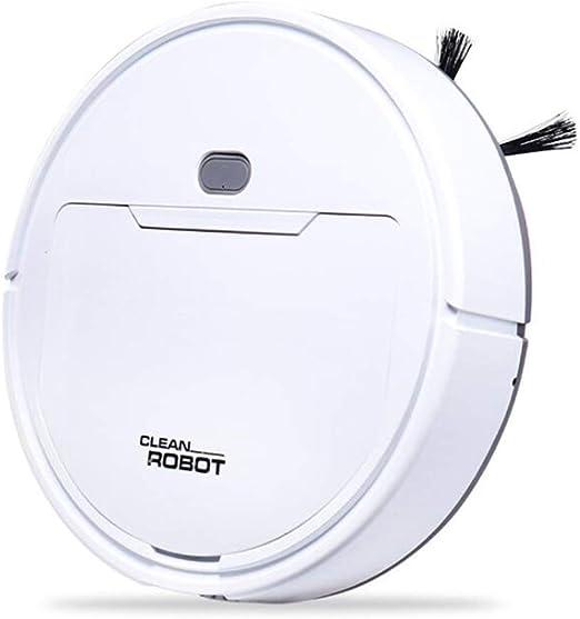 QJXSAN Robot Aspirador aspiración Fuerte 6,5 CM Alfombra de Madera ...