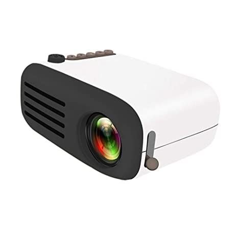 OSALADI Mini proyector doméstico LED 1080P, proyector ...