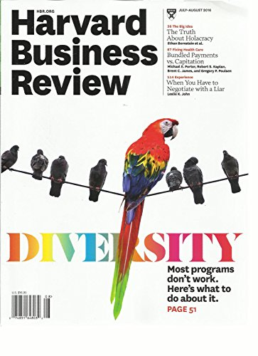 HARVARD BUSINESS REVIEW, JULY / AUGUST, 2016 DIVERSITY MOST PROGRAMS DON