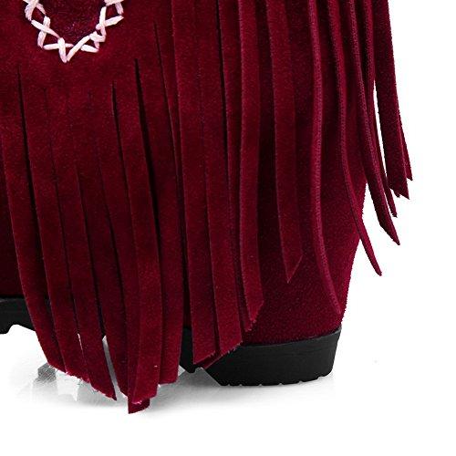 Sandali con Zeppa Red 35 Donna Rosso ANDku01897 n4qF8wPdqZ
