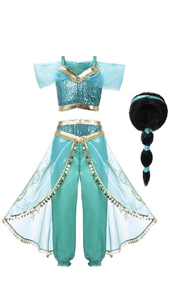 Amazon.com: FashionModa4U - Disfraz de princesa árabe para ...