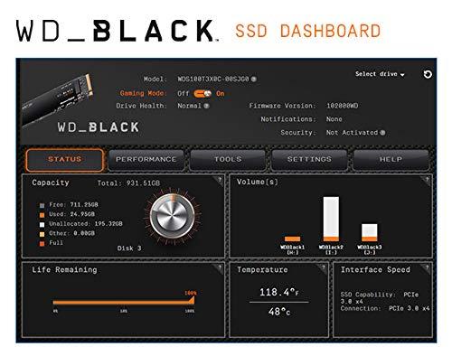 WD BLACK SN750 1TB NVMe Internal Gaming SSD - Gen3 PCIe, M.2 2280, 3D NAND - WDS100T3X0C by Western Digital (Image #7)