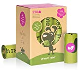 #2: Earth Rated 270-Count Dog Waste Bags, Lavender-Scented Poop Bags, 18 Refill Rolls