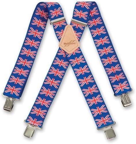 Tirantes de bandera de Reino Unido: Amazon.es: Bricolaje y ...