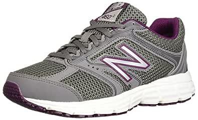 New Balance Women's 460v2 Cushioning Running Shoe, Grey, 5 D US