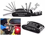Usstore Black 5 in 1 Multi-function Bicycle Repair Tool Set Cycling Necessary