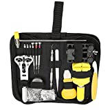 KMDECYY KMKT17001 145pcs Watch Repair Kit Professional Spring Bar Tool with Carrying Case TM