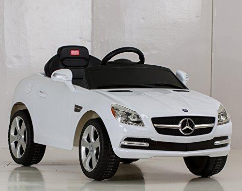 Vroom rider mercedes benz slk rastar 6v battery operated for Rollplay kids ride on 6v mercedes benz gl450 suv white