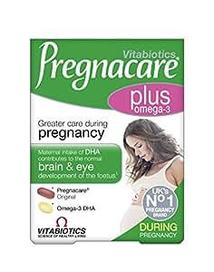 Vitabiotics Pregnacare Multivitaminas Plus Omega 3-56 comprimidos