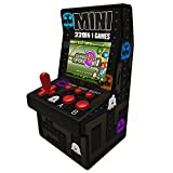 Fun Arcade Mini Classic Game Cabinet Machine Retro Handheld Portable Gaming Electronic Novelty Toys Video Player with Built-in 108 Games