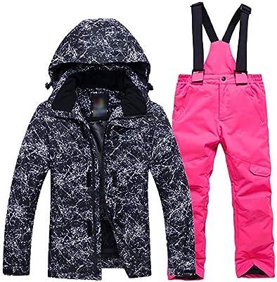 Sumferkyh Traje de Esquiar Conjunto de Ropa de esquí para niños ...