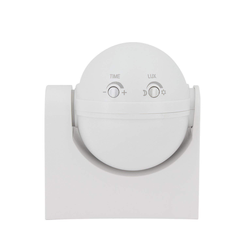 Detector de Movimiento PIR 180º Superficie efectoLED: Amazon.es: Iluminación
