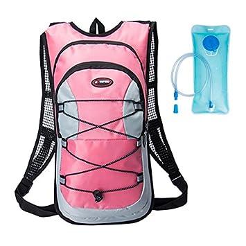 kolpop Mochila Hidratacion Ciclismo MTB Esquiar Practicar el Senderismo 10L Backpack con Capa Interna Aislada Compatible con Vejiga de Hidrataci/ón 2L Mochila Transpirable e Impermeable para Correr