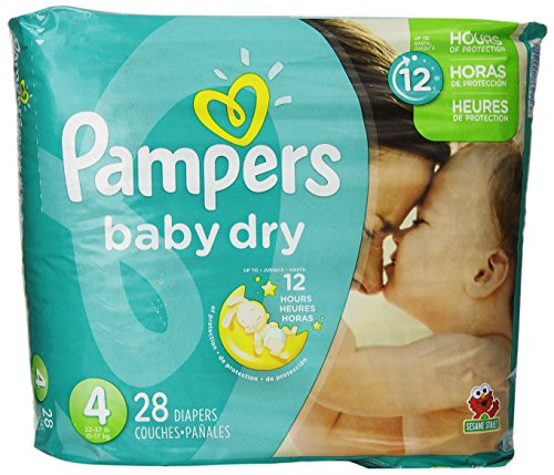 pampers baby dry size 4 - 9