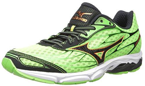 Mizuno Wave Catalyst Zapatillas de Running para Hombre, Verde Negro (Green Gecko/Clownfish/Black), 7.5 M US