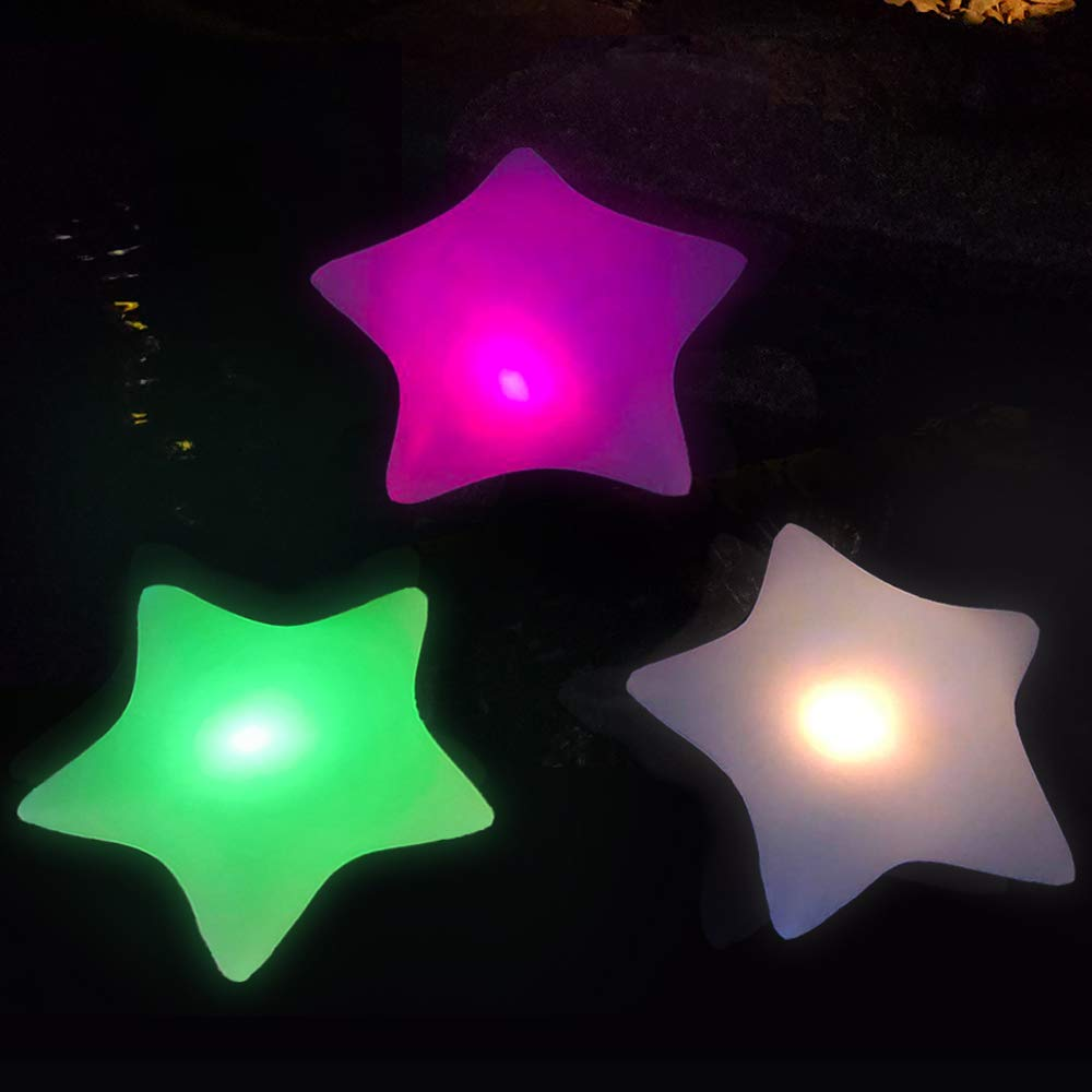 (Star)Cootway Floating Pool Solar Lights
