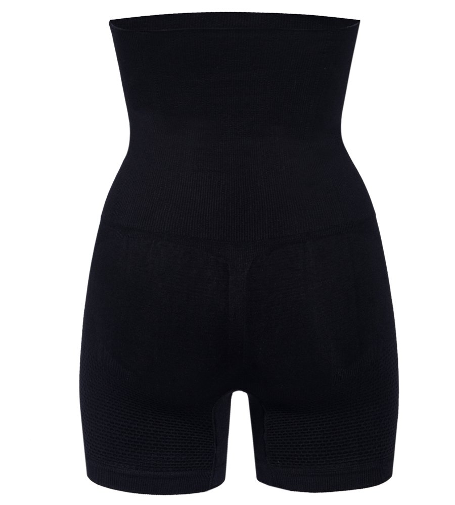 Tummy Control Body Shaper Seamless Thigh Slimming Boyshort Breathable Slip Shapewear for Women,Black,S(Fit For Waist:20inches-24inches) by Lelinta (Image #7)