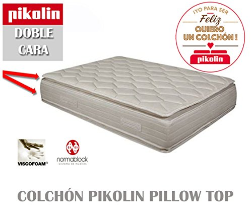 COLCHON-PIKOLIN-PILLOW-TOP-DOBLE-CARA-33-CM-DISPONIBLE-EN-TODAS-LAS-MEDIDAS