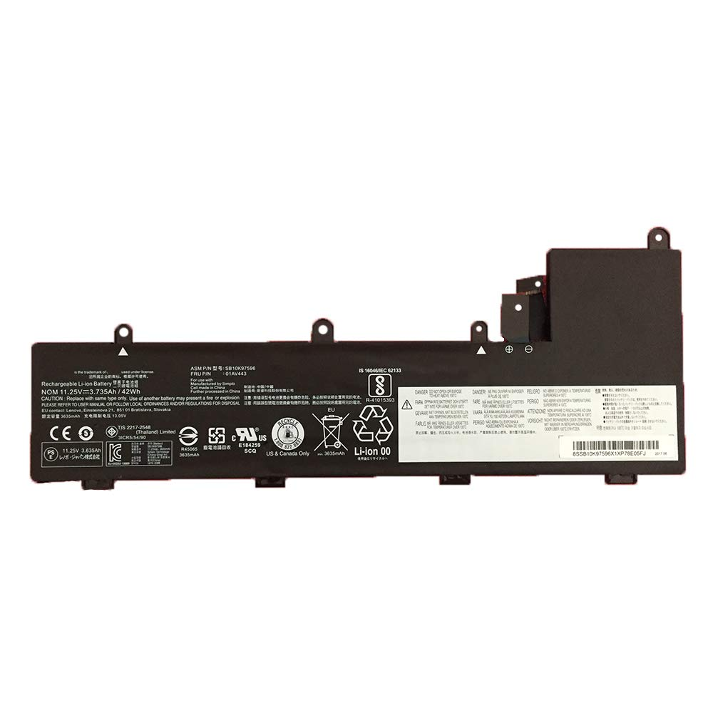 JIAZIJIA Compatible Laptop Battery with Lenovo 01AV443