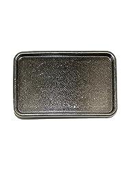 CTM® Blank Large Belt Buckle, Antiqued Silver