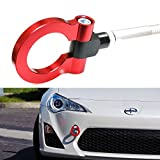 front tow hook wrx - iJDMTOY (1) Sports Red Track Racing Style Aluminum Tow Hook For Scion FR-S Toyota 86 Subaru BRZ Impreza WRX Sti, etc