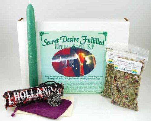 Fortune Telling Toys Boxed Magic Spell Kit Secret Desire Fulfilled Wish Spell