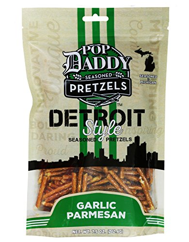 Pop Daddy Seasoned Pretzels - Garlic Parmesan 3 - Garlic Pretzel